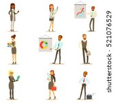 business  finance and office... | Shutterstock .eps vector #521076529