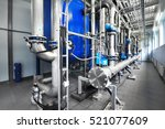 large industrial water... | Shutterstock . vector #521077609