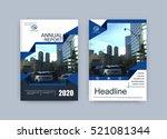 creative book cover design.... | Shutterstock .eps vector #521081344