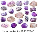 Set Of Various Amethyst...