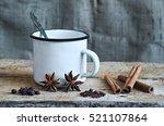 ingredients for cooking masala... | Shutterstock . vector #521107864