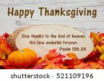 Happy Thanksgiving Message ...