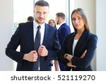 group of business people at a...   Shutterstock . vector #521119270