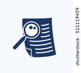document icon design clean... | Shutterstock .eps vector #521119459