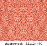 gothic flower. seamless pattern....
