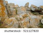 Brittany Coastline  Rock Stone...