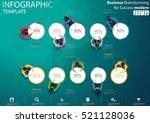 business brainstorming for... | Shutterstock .eps vector #521128036