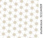 art deco background. | Shutterstock .eps vector #521144509