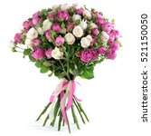 Bouquet Of Flowers From Peony...