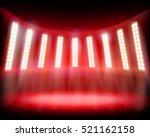 empty stadium. vector... | Shutterstock .eps vector #521162158