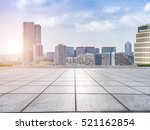 empty floor with modern... | Shutterstock . vector #521162854