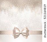 shiny christmas light...   Shutterstock .eps vector #521164819