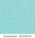 christmas seamless pattern with ... | Shutterstock .eps vector #521165476