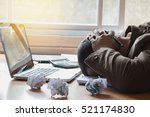 hard think on the analysis in... | Shutterstock . vector #521174830