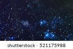 deep space. high definition... | Shutterstock . vector #521175988