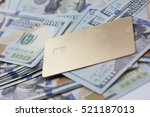 money and credit card | Shutterstock . vector #521187013
