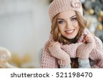 Beautiful Woman In Warm...