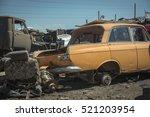 Abandoned Cars Auto Junkyard