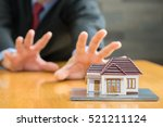 banks are going to seize homes | Shutterstock . vector #521211124