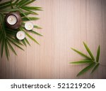 spa still life concept close up ... | Shutterstock . vector #521219206