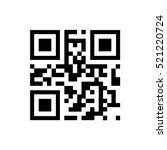 vector qr code sample for...