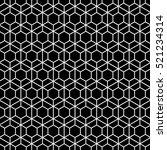 hexagonal grid design vector... | Shutterstock .eps vector #521234314