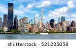 old apartment buildings and... | Shutterstock . vector #521235058