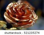 beautiful artificial rose made... | Shutterstock . vector #521235274