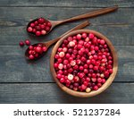 Fresh Red Forest Cranberry In ...