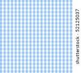 Seamless Blue Plaid Pattern