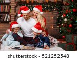 Beautiful Family In Christmas...