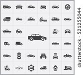 car icon. car icons universal... | Shutterstock .eps vector #521255044