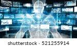 digital marketing with access... | Shutterstock . vector #521255914