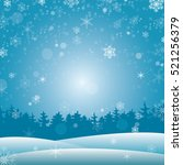 winter background for your... | Shutterstock .eps vector #521256379