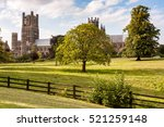 The Medieval Ely Cathedral In...