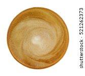 top view of hot coffee... | Shutterstock . vector #521262373