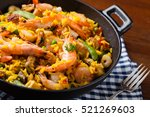 Traditional Spanish Paella Wit...