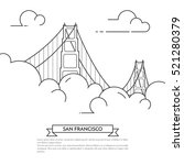 San Francisco Banner With City...