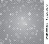 snowfall snowflakes on
