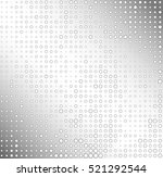 halftone dots on a shiny surface | Shutterstock .eps vector #521292544