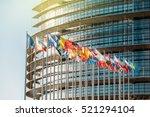 strasbourg  france   jan 28 ... | Shutterstock . vector #521294104
