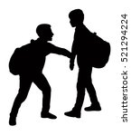 back to school kids playing ... | Shutterstock .eps vector #521294224