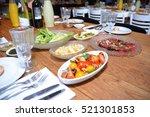restaurant interior | Shutterstock . vector #521301853
