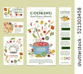 cooking restaurant menu... | Shutterstock .eps vector #521303458