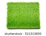 Artificial Grass Mat Isolated...