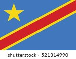 flag of the democratic republic ... | Shutterstock .eps vector #521314990