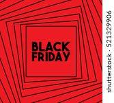 black friday vector illustration | Shutterstock .eps vector #521329906