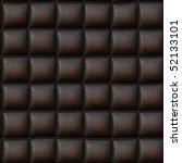 Dark Brown Leather Padded...