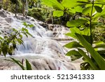 Dunn\'s River Falls In Jamaica