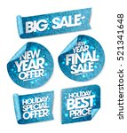 new year offer  new year final... | Shutterstock .eps vector #521341648